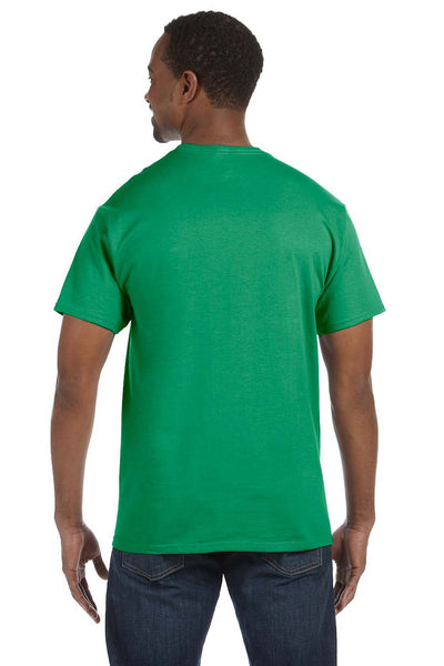 Jerzees 29M Mens Dri-Power Moisture Wicking Short Sleeve Crewneck T-Shirt Kelly Green Back