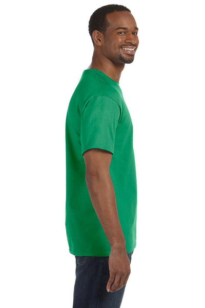 Jerzees 29M Mens Dri-Power Moisture Wicking Short Sleeve Crewneck T-Shirt Kelly Green Side