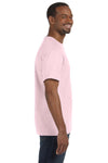 Jerzees 29M Mens Dri-Power Moisture Wicking Short Sleeve Crewneck T-Shirt Classic Pink Side