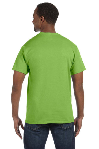 Jerzees 29M Mens Dri-Power Moisture Wicking Short Sleeve Crewneck T-Shirt Kiwi Green Back