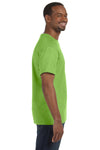 Jerzees 29M Mens Dri-Power Moisture Wicking Short Sleeve Crewneck T-Shirt Kiwi Green Side