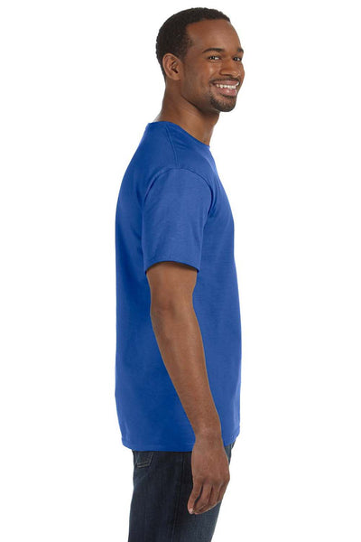 Jerzees 29M Mens Dri-Power Moisture Wicking Short Sleeve Crewneck T-Shirt Royal Blue Side