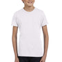 Bella + Canvas Youth Jersey Short Sleeve Crewneck T-Shirt - White