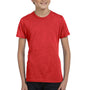 Bella + Canvas Youth Jersey Short Sleeve Crewneck T-Shirt - Red