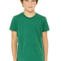 Bella + Canvas Youth Jersey Short Sleeve Crewneck T-Shirt - Kelly Green