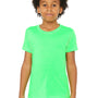 Bella + Canvas Youth Jersey Short Sleeve Crewneck T-Shirt - Neon Green