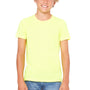Bella + Canvas Youth Jersey Short Sleeve Crewneck T-Shirt - Neon Yellow