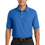 Nike Mens Classic Dri-Fit Moisture Wicking Short Sleeve Polo Shirt - Pacific Blue