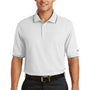 Nike Mens Classic Dri-Fit Moisture Wicking Short Sleeve Polo Shirt - White
