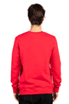 Threadfast Apparel 320C Mens Ultimate Fleece Crewneck Sweatshirt Red Back