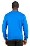 Threadfast Apparel 320C Mens Ultimate Fleece Crewneck Sweatshirt Royal Blue Back