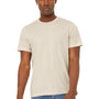 Bella + Canvas Mens Jersey Short Sleeve Crewneck T-Shirt - Heather Dust