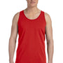 Bella + Canvas Mens Red Jersey Tank Top