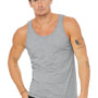 Bella + Canvas Mens Heather Grey Jersey Tank Top
