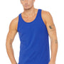 Bella + Canvas Mens True Royal Blue Jersey Tank Top