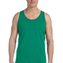 Bella + Canvas Mens Kelly Green Jersey Tank Top