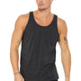 Bella + Canvas Mens Heather Dark Grey Jersey Tank Top