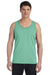 Bella + Canvas 3480 Mens Jersey Tank Top Green Triblend Front