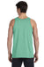 Bella + Canvas 3480 Mens Jersey Tank Top Green Triblend Back