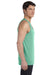 Bella + Canvas 3480 Mens Jersey Tank Top Green Triblend Side