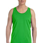 Bella + Canvas Mens Neon Green Jersey Tank Top