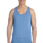Bella + Canvas Mens Blue Triblend Jersey Tank Top