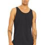 Bella + Canvas Mens Dark Grey Jersey Tank Top