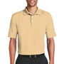 Nike Mens Dri-Fit Moisture Wicking Short Sleeve Polo Shirt - Pale Vanilla