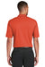 Nike 363807 Mens Dri-Fit Moisture Wicking Short Sleeve Polo Shirt Orange Back
