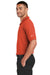 Nike 363807 Mens Dri-Fit Moisture Wicking Short Sleeve Polo Shirt Orange Side