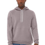 Bella + Canvas Mens Storm Grey Sponge Fleece Hooded Sweatshirt Hoodie