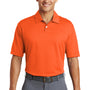 Nike Mens Dri-Fit Moisture Wicking Short Sleeve Polo Shirt - Brilliant Orange