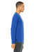 Bella + Canvas 3901 Mens Sponge Fleece Crewneck Sweatshirt Royal Blue Side