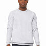 Bella + Canvas Mens Sponge Fleece Crewneck Sweatshirt - Ash Grey