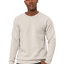 Bella + Canvas Mens Heather Dust Sponge Fleece Crewneck Sweatshirt