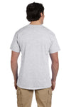 Fruit Of The Loom 3931 Mens HD Jersey Short Sleeve Crewneck T-Shirt Ash Grey Back
