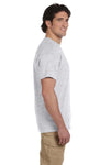 Fruit Of The Loom 3931 Mens HD Jersey Short Sleeve Crewneck T-Shirt Ash Grey Side