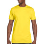 Hanes Mens Nano-T Short Sleeve Crewneck T-Shirt - Yellow