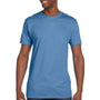 Hanes Mens Nano-T Short Sleeve Crewneck T-Shirt - Carolina Blue