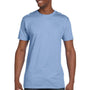 Hanes Mens Nano-T Short Sleeve Crewneck T-Shirt - Light Blue