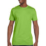 Hanes Mens Nano-T Short Sleeve Crewneck T-Shirt - Lime Green