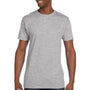 Hanes Mens Nano-T Short Sleeve Crewneck T-Shirt - Light Steel Grey