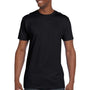 Hanes Mens Nano-T Short Sleeve Crewneck T-Shirt - Black