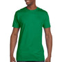 Hanes Mens Nano-T Short Sleeve Crewneck T-Shirt - Kelly Green