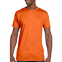 Hanes Mens Nano-T Short Sleeve Crewneck T-Shirt - Orange