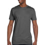 Hanes Mens Nano-T Short Sleeve Crewneck T-Shirt - Smoke Grey