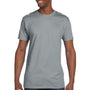 Hanes Mens Nano-T Short Sleeve Crewneck T-Shirt - Vintage Grey
