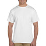 Hanes Mens EcoSmart Short Sleeve Crewneck T-Shirt - White