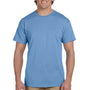 Hanes Mens EcoSmart Short Sleeve Crewneck T-Shirt - Carolina Blue
