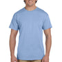 Hanes Mens EcoSmart Short Sleeve Crewneck T-Shirt - Light Blue